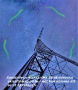 Laserkonstverk och amatörradiosändning från Grimeton