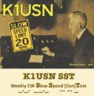 Ny QRS-telegrafitest – SST – Slow Speed Test