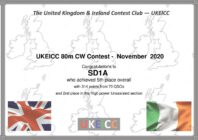 UKEI contest clubs 80 meterstester