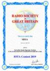 RSGB Islands On The Air-contest 24-25 juli