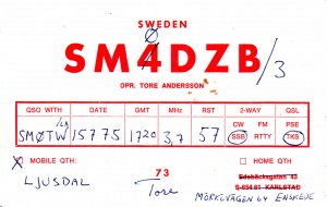 SM0DZB 1975