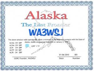 Last Frontier Award