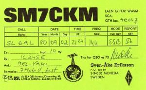 SM7CKM