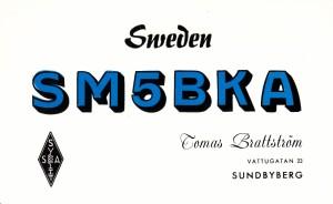 SM5BKA 1965