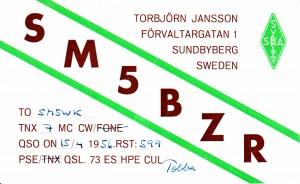 SM5BZR 56