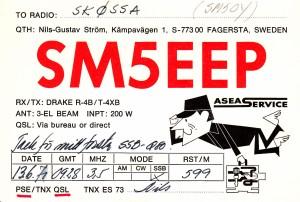 SM5EEP ssb