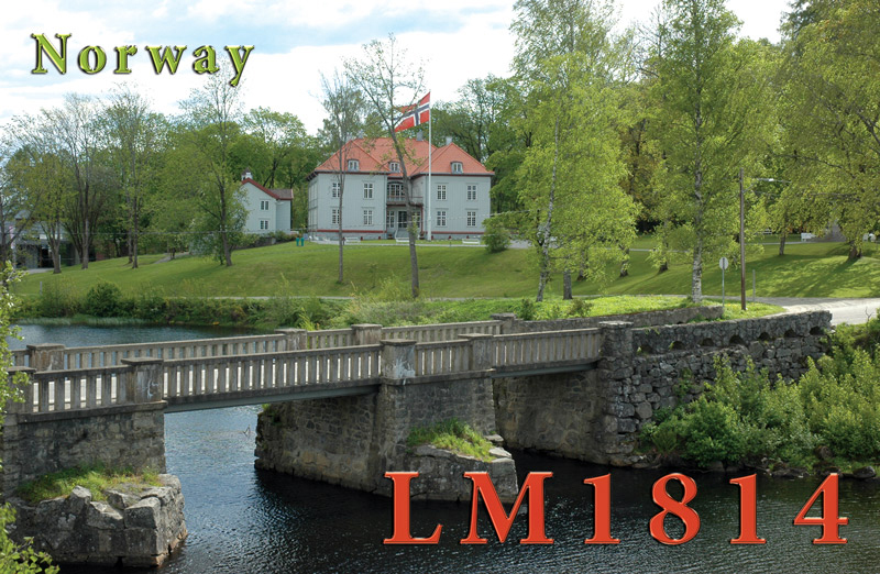 QSL Norsk national fieldday 2014FF-LM1814