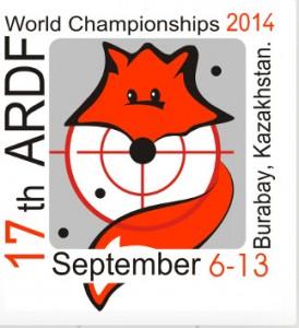 VM rävjakt 2014 Kazahkstan logotype
