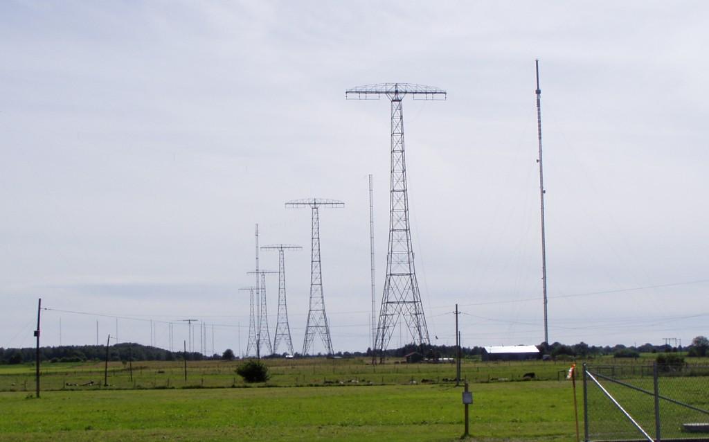 Det svåraste för Veteranradioföreningen i Grimeton är att få tillgång till antennerna för sina sändningar. FOTO: Erik SM7DZV
