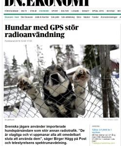 DN uppmärksammade i slutet av förra veckan PTS larm om hundpejlar som köps från andra länder direkt över nätet.