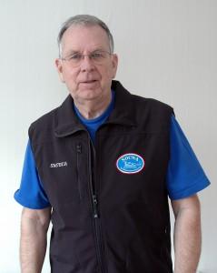 Mats SM7BUA ledare för SOCWA och en av lärarna under SK7RN:s telegrafiträningar 2012.