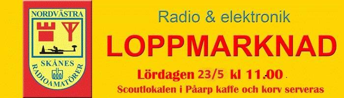 Loppmarknad i Påarp 2015