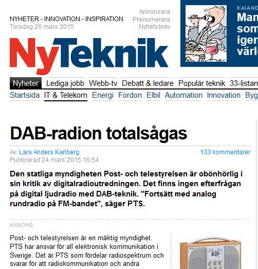 Skärmdump ur Ny Teknik 2015-03-24