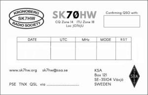 SK70HW nya baksida