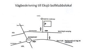Karta Eksjö D7 mötet