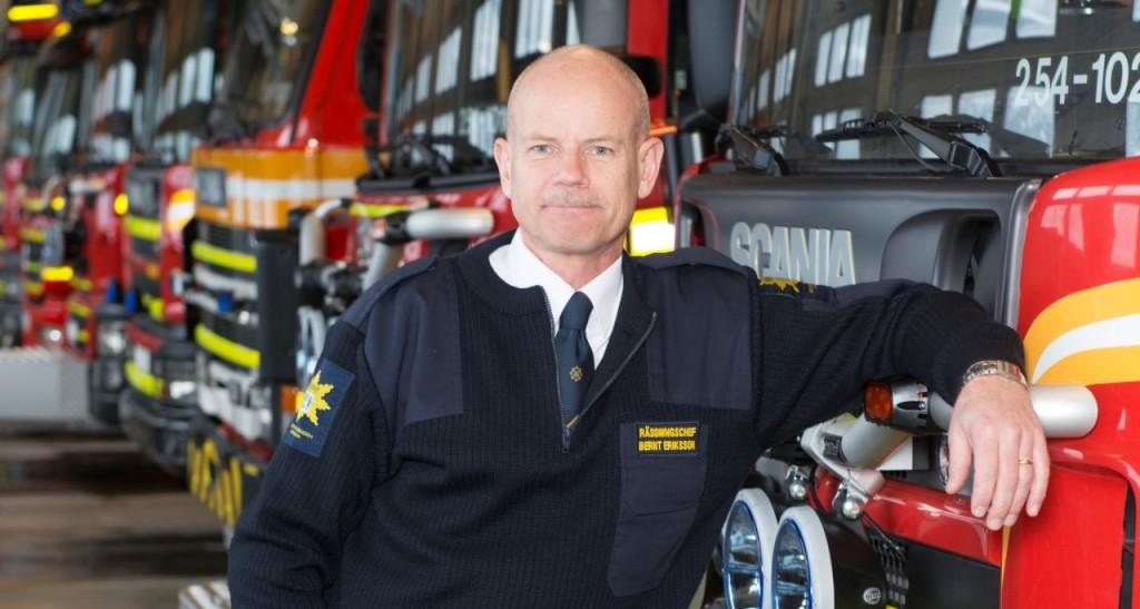Bernt SA6RTJ, SSA:s Nödsambandskoordinator Förbunds- / Räddningschef Mitt Bohuslän