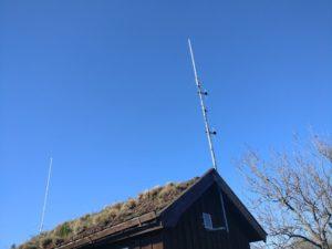 SL5ZZV-2 antenner = 2018