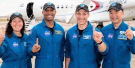 4 Astronaut radioamatörer i ISS