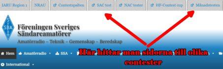 SSA.se och HF-tester
