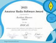 KN4CRD får utmärkelse för JS8CALL