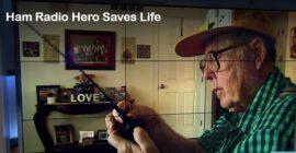 Radioamatör räddar sin kompis liv.