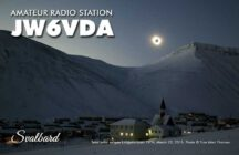 Svalbard QRV – JW6VDA